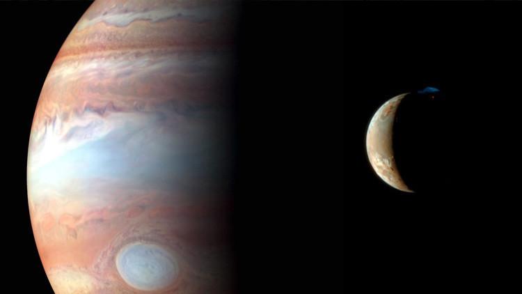 Astrónomos encuentran dos lunas nuevas y cinco 'perdidas' alrededor de Júpiter (FOTO)
