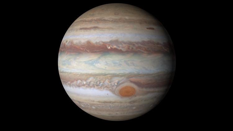 Terrorífico: Un algoritmo de Google crea 'monstruos' con fotos de Júpiter