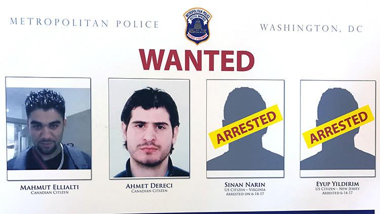 Doce guardias de Erdogan bajo mandato de arresto