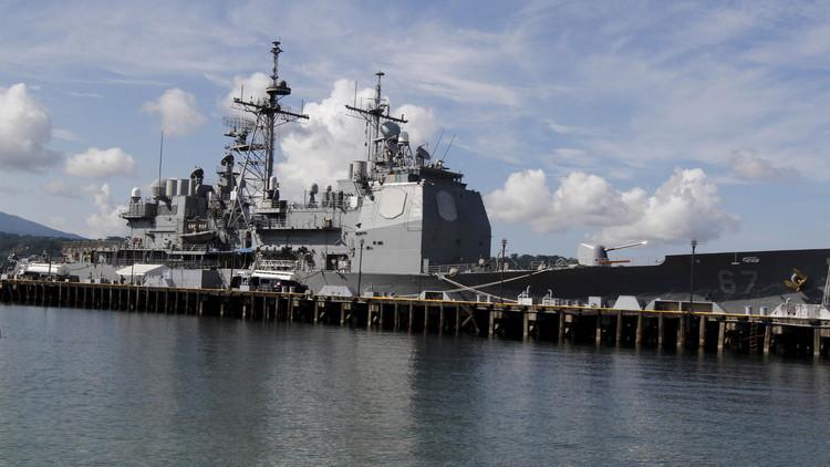 Hallan vivo a un marinero de EE.UU. en el mismo buque donde desapareció hace una semana