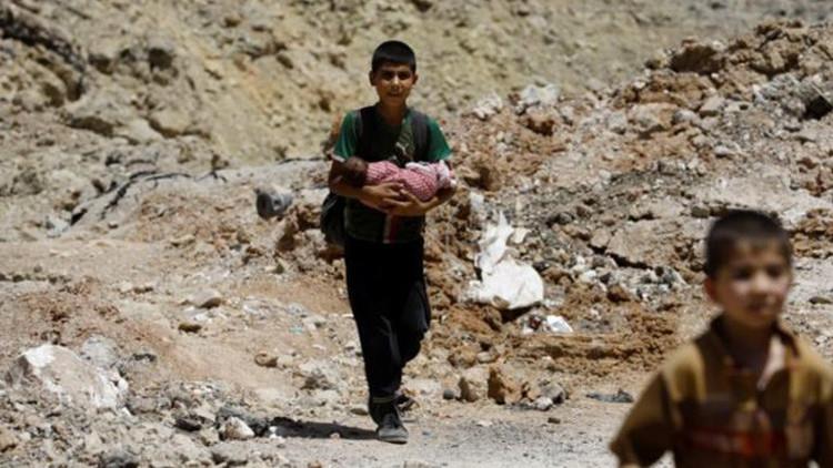 """La ONU: 100.000 civiles están detenidos por el Estado Islámico en Mosul como """"escudos humanos"""""""