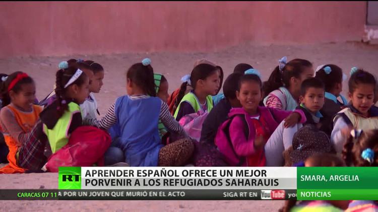 Aprender español ofrece un mejor futuro a los refugiados saharauis