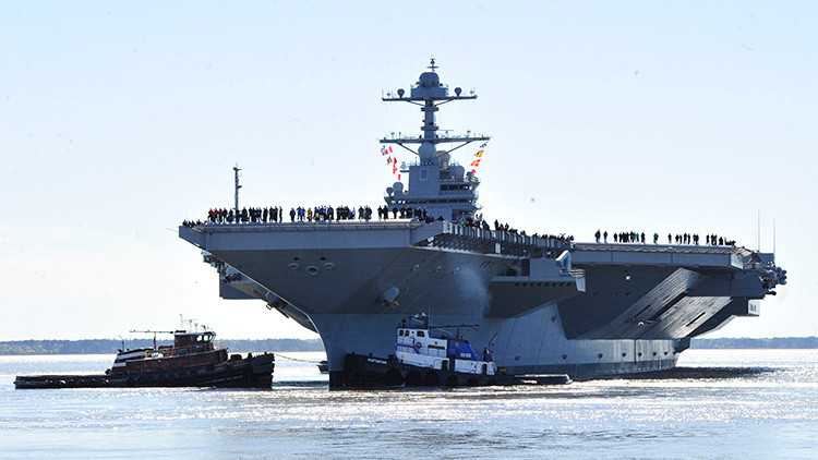 USS Gerald Ford: El portaaviones más caro y avanzado del mundo no lanza ni recibe aviones
