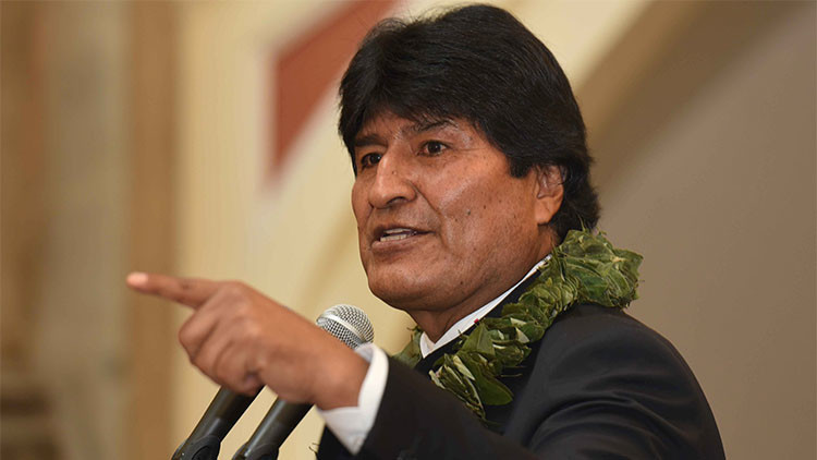 Evo Morales acusa contradicciones de Heraldo Muñoz