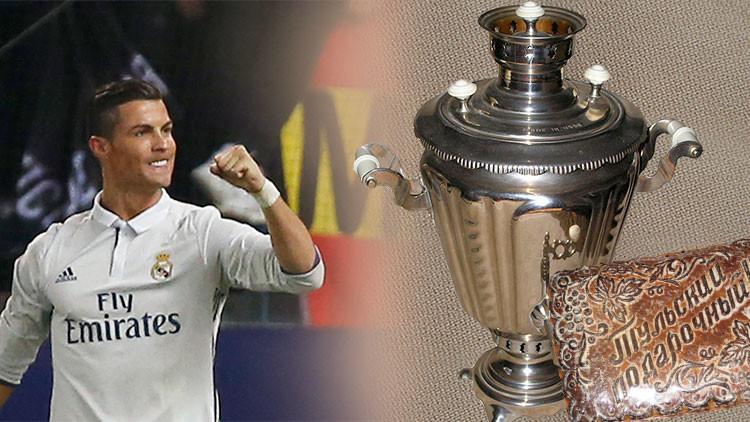 Un equipo ruso 'tienta' a Ronaldo y propone pagar su traspaso con té de samovar y dulces locales
