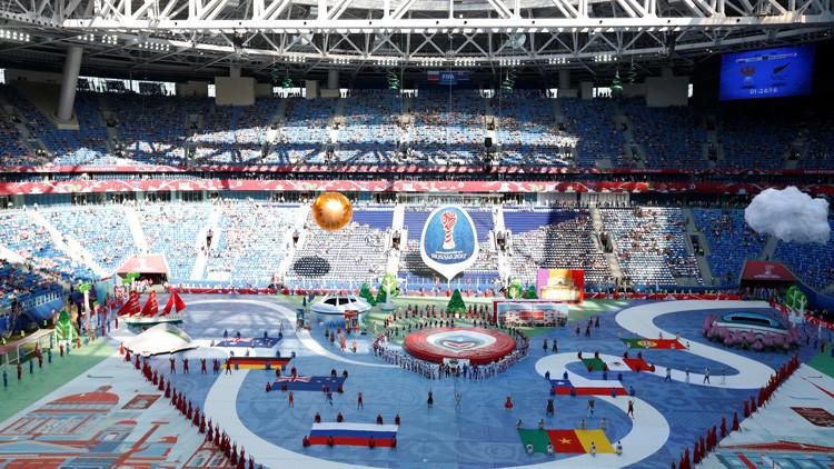 La Copa Confederaciones arranca con una espectacular ceremonia de apertura