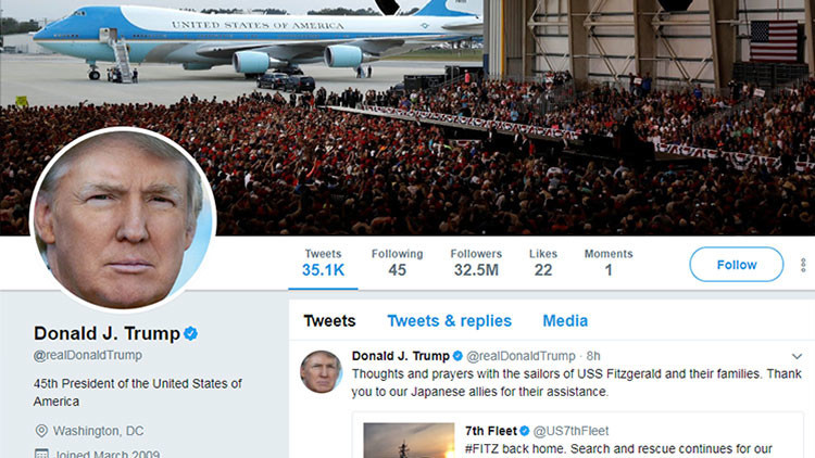 """""""El rey de Twitter"""": Abren en Nueva York un museo con tuits enmarcados de Trump (FOTOS)"""