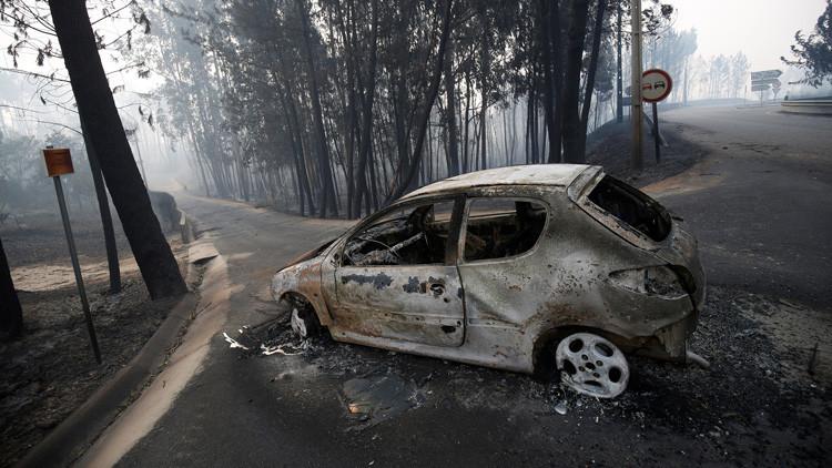 Incendio en Portugal dejó 62 muertos y 57 heridos
