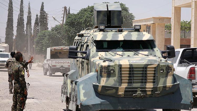 Intensos enfrentamientos en Raqa entre el Ejército sirio y las fuerzas apoyadas por EE.UU.
