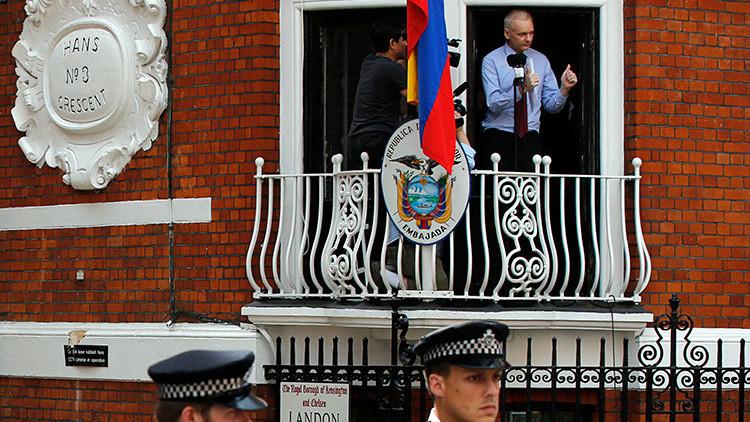 Assange cumple 5 años asilado en la Embajada de Ecuador en Londres: WikiLeaks sigue 'dando guerra'