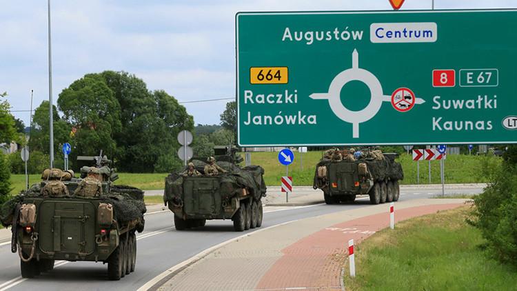 """La OTAN 'defiende' por primera vez su """"punto débil"""" en el Báltico de la supuesta amenaza rusa"""