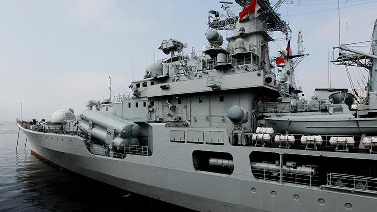 Tres buques de China zarpan hacia Rusia para realizar ejercicios conjuntos en tres mares