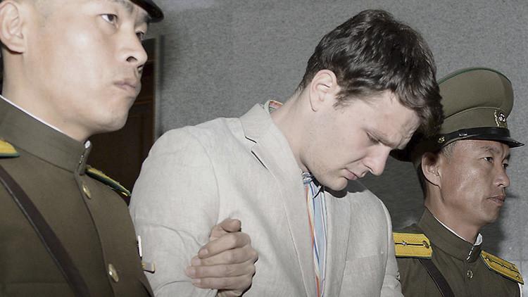 Publican fotos y video del estudiante Otto Warmbier antes de su detención en Corea del Norte