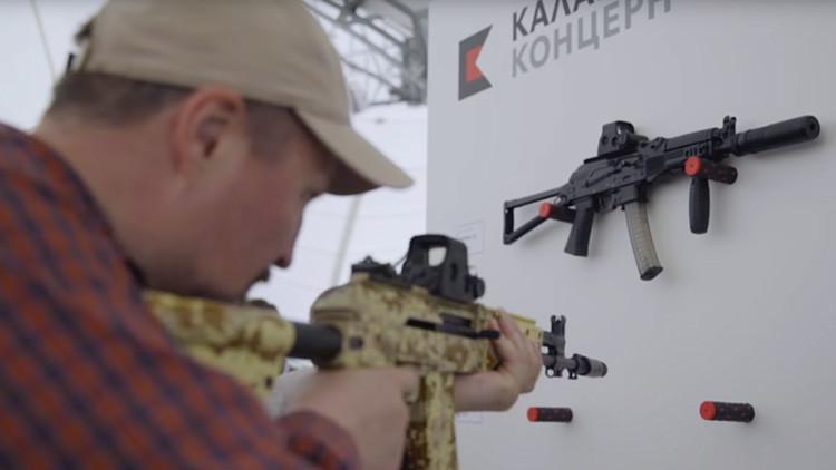 Video: El consorcio Kaláshnikov presenta las nuevas armas ligeras de la Infantería rusa