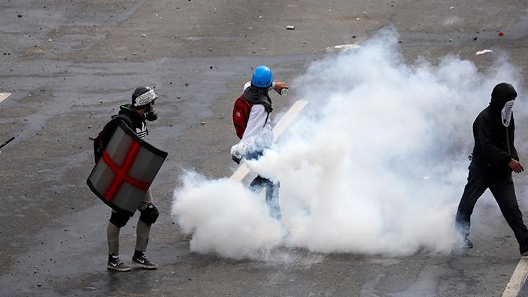 ¿Actuó en defensa propia el guardia que disparó contra una manifestación en Caracas? (VIDEOS)