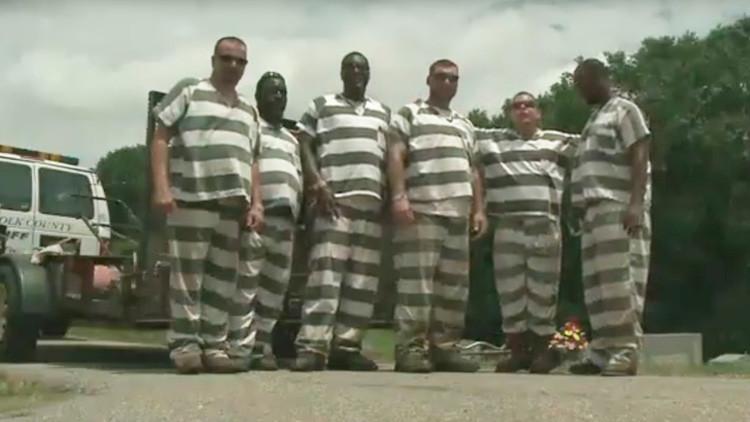 De presos a héroes: seis reos salvan la vida de un policía