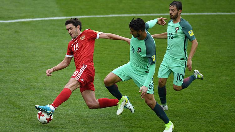 Portugal se lleva una sufrida victoria por la mínima ante Rusia