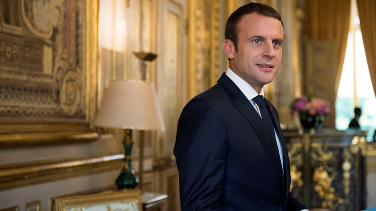 """Macron no ve un """"sucesor legítimo"""" a Bashar al Assad en Siria"""