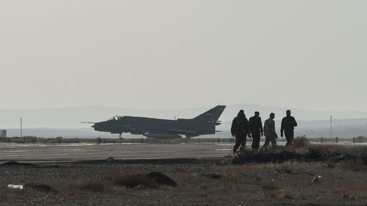 Nuevo incidente con un Su-22 sobre las posiciones de la oposición en Siria