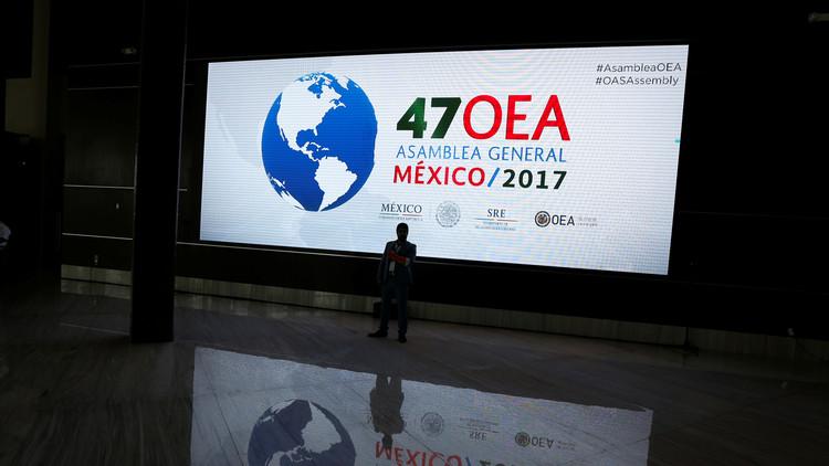 Oposición venezolana fue la gran perdedora en asamblea de la OEA