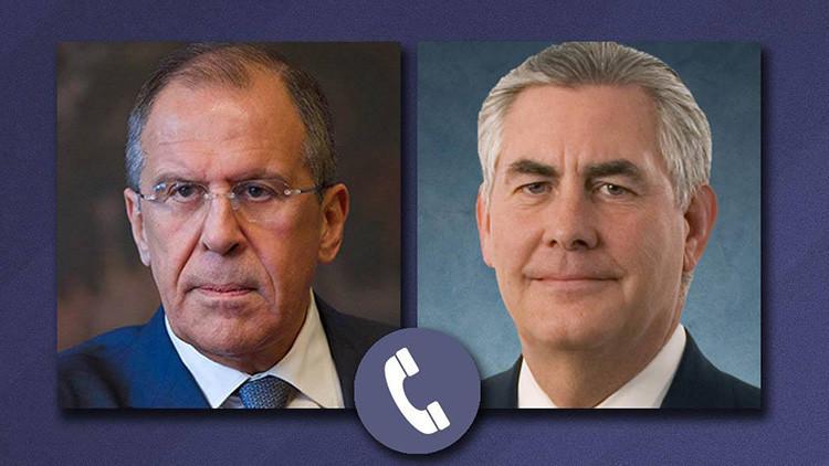 """Lavrov a Tillerson: """"EE.UU. complica la lucha contra los terroristas en Siria"""""""