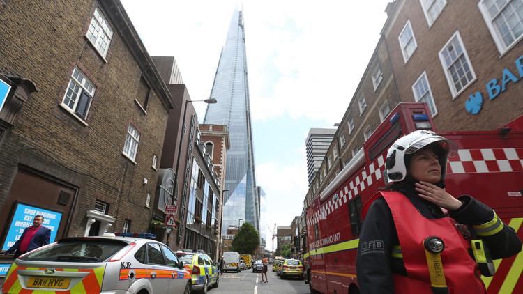 VIDEO, FOTOS: Gran incendio en el centro de Londres