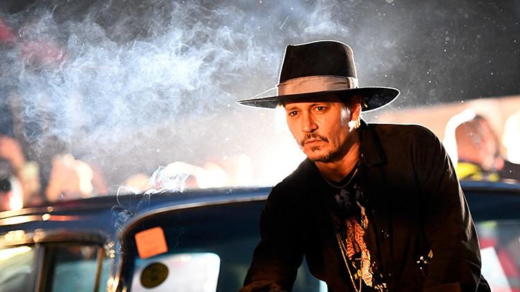 El Servicio Secreto de EE.UU. está al tanto de la broma de Johnny Depp sobre el asesinato de Trump