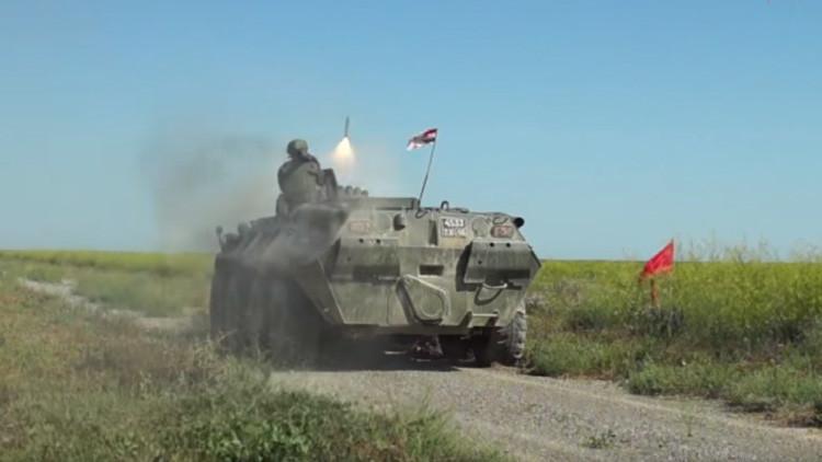 Alta precisión: misiles antiaéreos rusos Iglá alcanzan todos sus blancos (video)