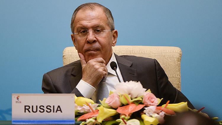 """Lavrov: """"La OTAN siempre ha buscado dominar todo el espacio geopolítico que fuera posible"""""""