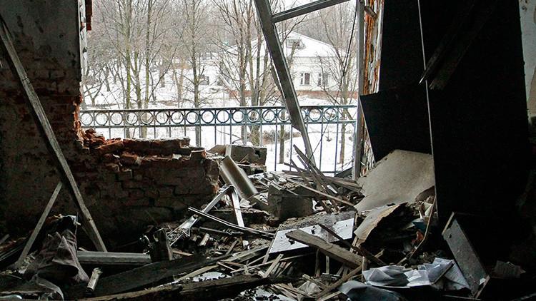 """""""Donbass nunca quiso una guerra y ahora solo intenta defender la vida de su pueblo"""""""
