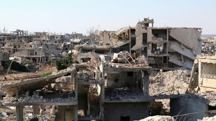 Militares rusos y autoridades de Latakia firman un acuerdo para un alto el fuego