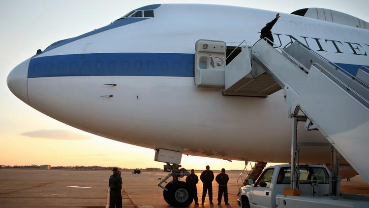 EE.UU.: Una tormenta causa daños a dos 'aviones del juicio final'