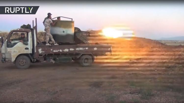 VIDEO: Primeras imágenes del ataque de Israel a Siria