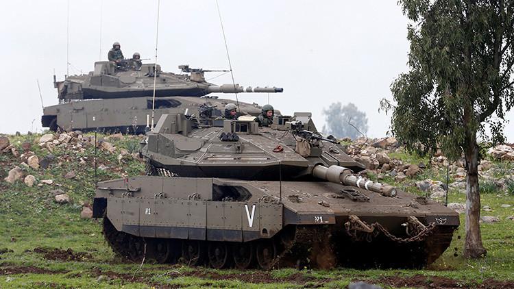 Israel ataca posiciones de artillería en el sur de Siria