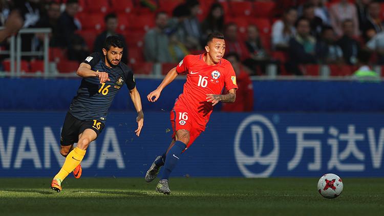 Chile clasifica a las semifinales de la Copa Confederaciones con un sufrido empate