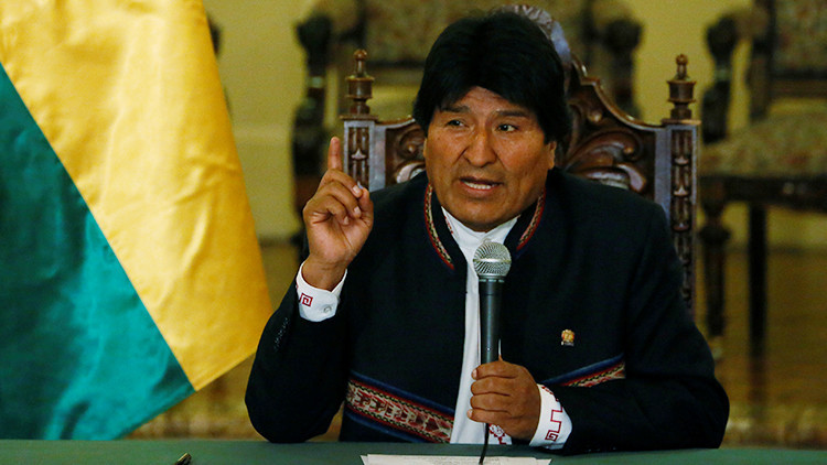 """Evo Morales a Sebastián Piñera: """"Jamás callaré ante el jefe de la oligarquía pinochetista"""""""