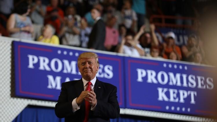 """Pionyang califica el 'América primero' de Trump de """"nazismo contemporáneo"""""""