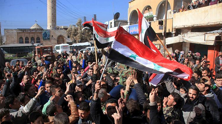 """Moscú tacha de """"inadmisibles"""" las amenazas de EE.UU. contra Siria"""