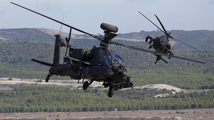 EE.UU. prueba con éxito un arma revolucionaria en sus helicópteros de ataque