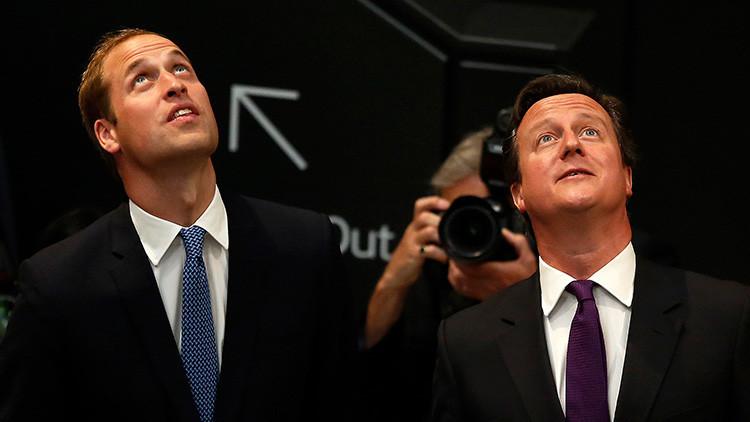 El príncipe Guillermo y Cameron estarían envueltos en un escándalo de corrupción de la FIFA