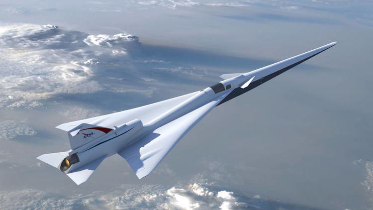 ¿Volar a velocidades supersónicas?: La NASA completa la etapa de diseño de su avión X (Video)