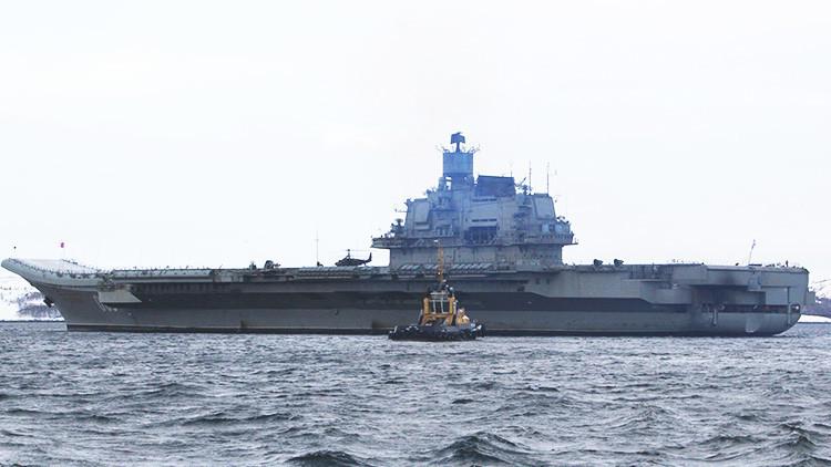Rusia confirma que construirá un nuevo portaviones