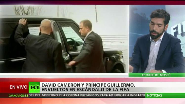 El príncipe Guillermo y Cameron se unen al escándalo de corrupción de la FIFA