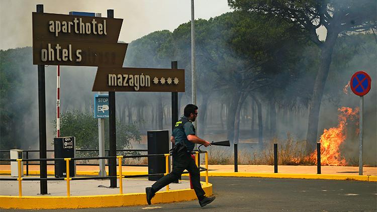 ¿Una venganza? El incendio del parque español de Doñana arrasa 8.500 hectáreas de bosque