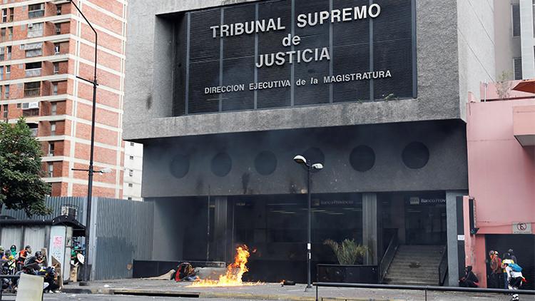 """Tribunal Supremo de Justicia de Venezuela: """"Nos encontramos bajo amenaza terrorista"""""""