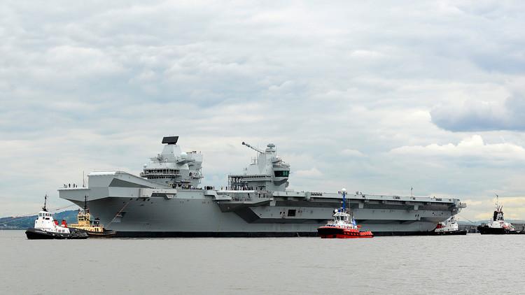 """Así responde Moscú al ministro británico que dijo que Rusia siente """"envidia"""" de su nuevo portaviones"""