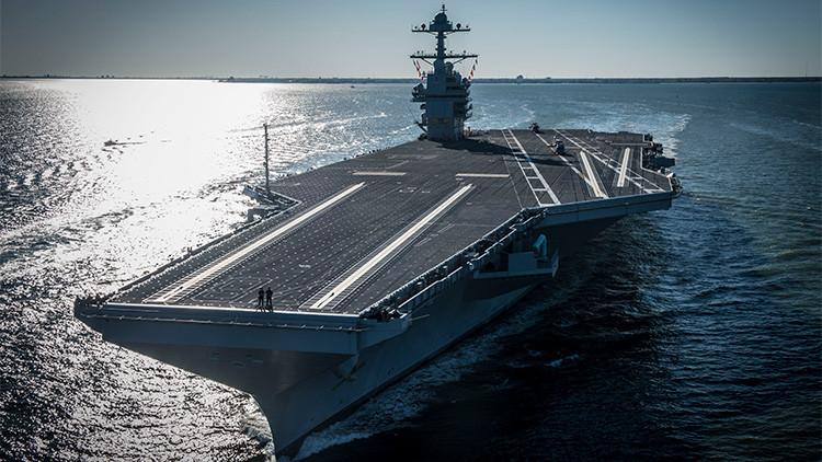 """Bloomberg explica cómo los portaviones de EE.UU. pueden quedarse """"obsoletos"""""""