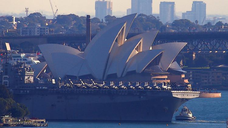 EE.UU. y Australia comienzan los ejercicios militares conjuntos más grandes de su historia