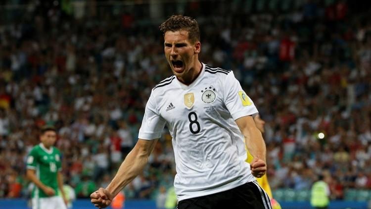 Alemania golea 4 - 1 a México y jugará la final de la Copa Confederaciones
