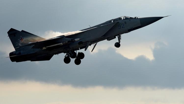 La Fuerza Aérea rusa interceptó 6 aviones espía en una semana